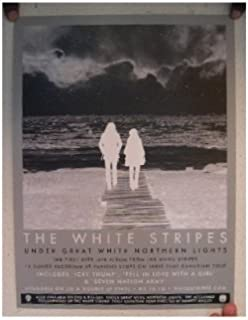 Under Great White Northern Lights Poster