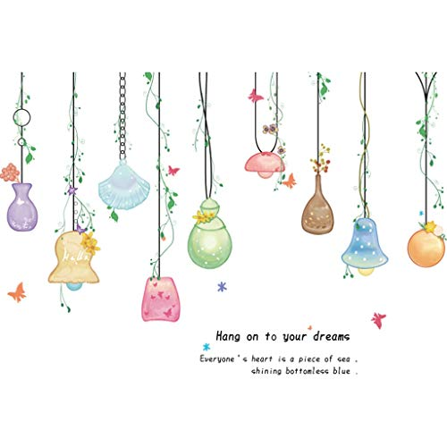 TAOYUE Cartoon Mooie Lamp Shell Muursticker Home Decor Slaapkamer Kids Meisje Babykamers Kwekerij Poster Verwijderbare DIY Art Mural Muurdecoratie