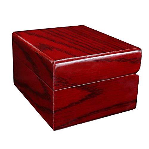 Hochwertige Uhrenbox aus Holz Aufbewahrungshalter Mode Uhr Aufbewahrungsbox mit 1 Gitter