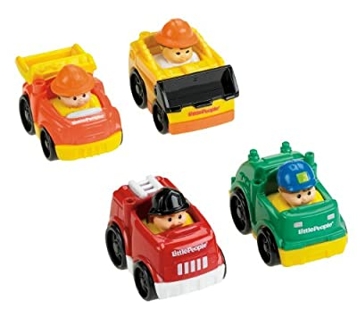 Fisher-Price Little People Wheelies All About Working by Fisher Price