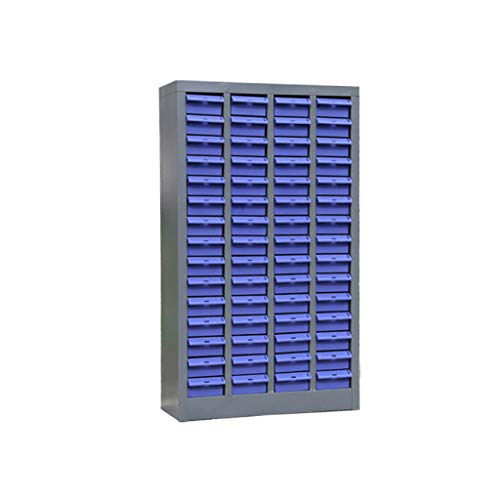 FPigSHS Archivadores de fichas Gabinete para Partes Gabinete para Herramientas Gabinete para componentes electrónicos Tornillos muestras Materiales Acabado cajón 60 Bombeo L52.5 * W22 * H90CM