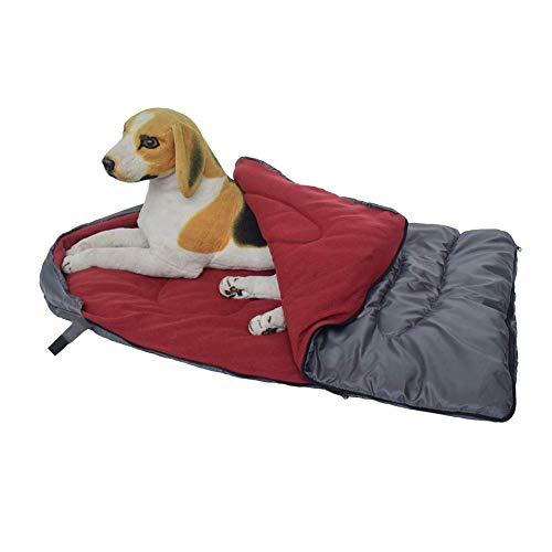 Reuvv Saco de dormir para perro, cama de cueva, felpudo para perros pequeños, medianos y grandes