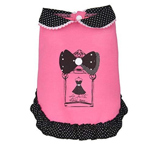 Hey Shop Haustier Hund Rock Teddy Pudel Chihuahua Bichon Kleine Kleidung Frühling und Sommer Kleidung Zubehör Prinzessin Kleidung Zubehör