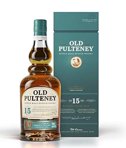 Old Pulteney 15 Years Old Single Malt Scotch Whisky (1 x 0.7 l)