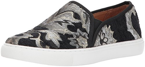Opportunity Shoes - Corso Como Women's Skipper Sneaker, Black/Metallic Brocade, 8 Medium US