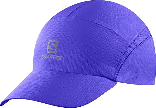 SALOMON XA Cap avec Fermeture à Boucle réglable et Technologie Advanced Skin Shield pour la Course à Pied. Medium Bleu clématite