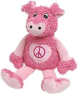 Zanies Moppy Peace Party Dog Toy, Hog, 11-Inch