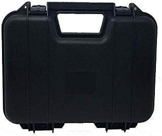 ARSUK Estuche rígido para Pistola de Airsoft BB, Balines y Cartuchos Bolsa - Interior de Espuma (31cm Estuche-Negro)