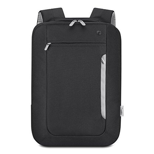 Belkin Slim Rucksack bis 39,1cm Laptops (39,1cm (39,1cm), Rucksack Rucksack Taschen, Polyester, 431,8X 292,1X 50,8mm, 457x 317,5x 127mm)