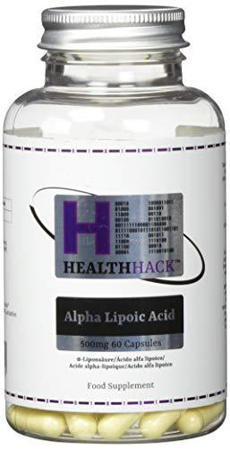 Health Hack Alpha-Liponsäure, 500 mg, 60 Kapseln