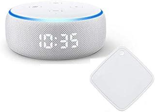 Echo Dot (エコードット)第3世代 - スマートスピーカー時計付き with Alexa、サンドストーン + ラトックシステム スマート家電リモコン