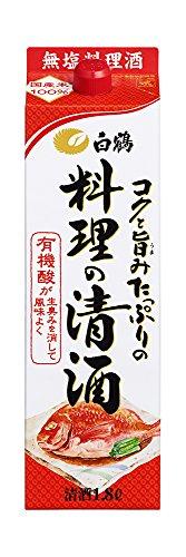白鶴 コクと旨みたっぷりの料理の清酒 [ 日本酒 兵庫県 1800ml ]
