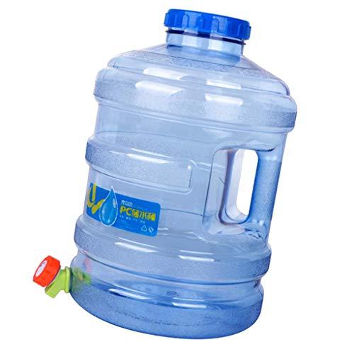 F Fityle Envase Plástico de La Botella de Agua de La PC de 4 Galones, Cilindro Reutilizable del Cubo de Agua del Jarro