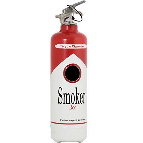 Cenicero Design Smoker Red