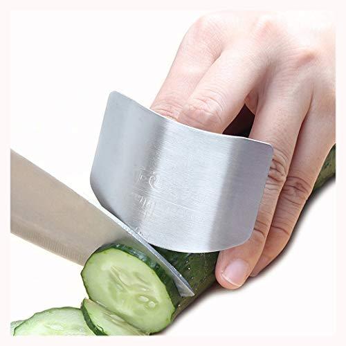 Protector De Dedo De Acero Inoxidable, Cocina Finger Guard,Protege Tus Dedos De Lesiones