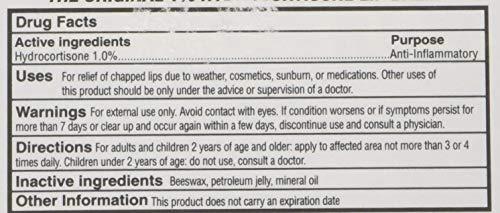 Dr. Dans CortiBalm Lip Balm | Patented Formula | 0.14 Ounces | 2-Pack