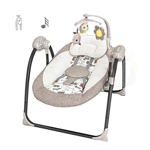 Silla de swing de bebé, cuna multifuncional para sentarse y acostarse apto para bebés de 0 a 6 años WDH666