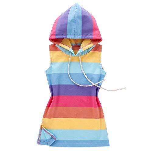 Sunnymi - Vestido de princesa para niña de 1 a 7 años multicolor 1-12 meses