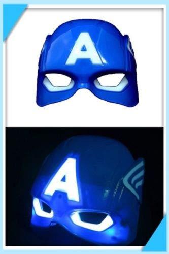 plutofit Super Hero Theme Style Like Mask with LED for Kids (CA)