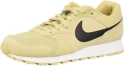 Nike MD Runner 2 Suede, Zapatillas de Trail Running para Hombre, Rosa (Team Gold/Black 700), 42.5 EU