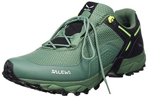 Salewa MS Speed Beat Gore-TEX Zapatillas de trail running, Ombre Blue/Myrtle, 42 EU