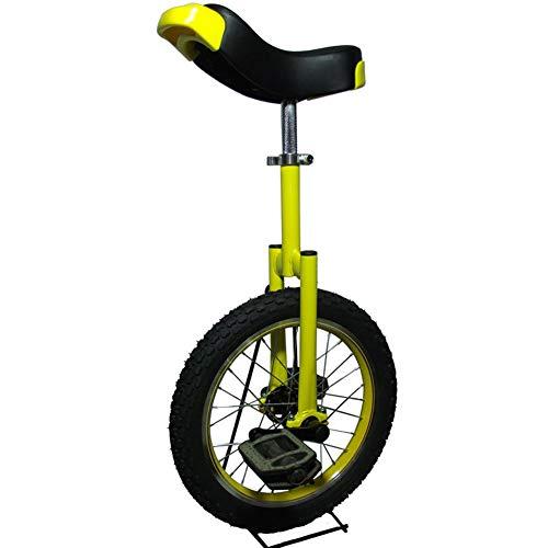 SYCHONG De Niños/Adulto Instructor Monociclo, Bicicletas Equilibrio Carretilla, Neumáticos De Goma Anti-Deslizante Anti-Desgaste De Presión Anti-Gota Anticolisión