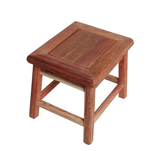 AXCJ Kleiner Sitz-Haushalt, praktischer Sofa-Schemel, Mahlzeit-Schemel, Make-up Schemel, Rest-Bereich Länge 30Cm, Breite 25Cm,Natürlich