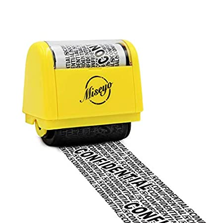 Identity Theft Roller Stamp