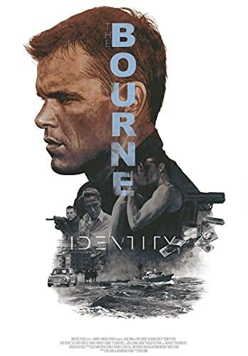 The Bourne Supremacy, Movie Film, Poster Print, A3, A4, A5, Home Decor, Wall Art, Picture, Advance Style, Matt Damon, Julia Stiles, Joan Allen (A5 5.8x8.3 in / 14x21 cm)