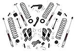 Rough Country 3.5' Lift Kit (fits) 2007-2018 Jeep Wrangler JK 2DR | N3 Shocks | Suspension System | 69330