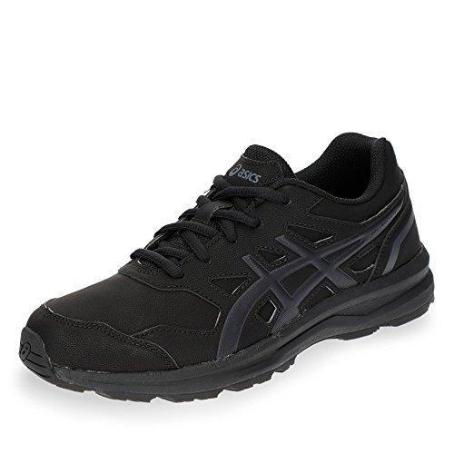 Asics Gel-Mission 3, Walking Shoe Mujer, Negro (Black/Carbon/Phantom 9097), 39 EU