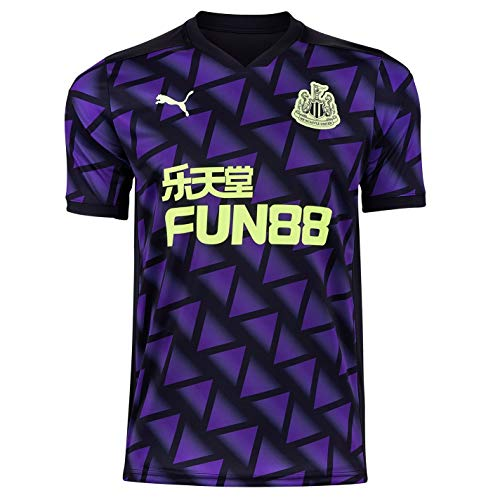 PUMA Hombre Newcastle United Tercero Camiseta Deporte 20/21 Prisma Violeta 2XL