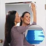 FuYouTa Spiegelfolie Wandaufkleber Spiegel Wandaufkleber Selbstklebende Spiegel Wandaufkleber reflektierende spiegelaufkleber selbstklebende spiegel wandaufkleber wohnzimmerreflektierende