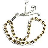 BELTI Beads Bracelet 33 Prayer Beads Muslim Islam Worship Rosary Allah Muhammad Tasbih Beaded Chain