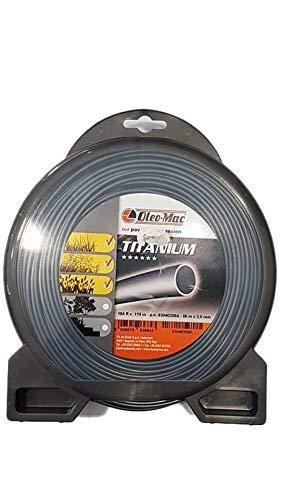 Filo DECESPUGLIATORE Titanium Originale EMAK - EFCO - OLEOMAC Rotondo 3,0 MM,...