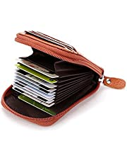 Other Women Zipper Credit Card Holder Fashion Genuine Leather Wallet Id Holder Bag