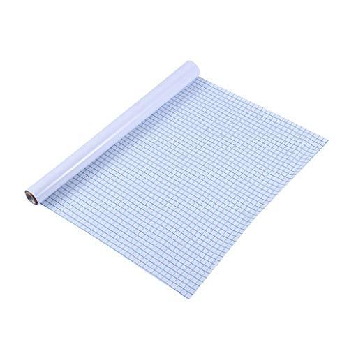 sdfrregf schoolbord 200 * 45cm Whiteboard Sticker Dry Erase Boards Verwijderbare Muursticker Krijtbord + Whiteboard Pen Kids Rooms Keuken Koelkast Magneten