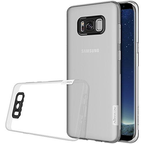 Nillkin Nature - Custodia TPU posteriore di protezione e antiscivolo per Samsung Galaxy S8, Transparente