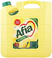 Afia Cooking Oil, 9 Litres - Pack of 1