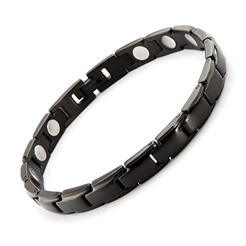 38 Elegant Stainless Steel Magnetic Bracelet for Women Magnetic Therapy Bracelet Pain Relief for Arthritis with Free Link Removal Tool