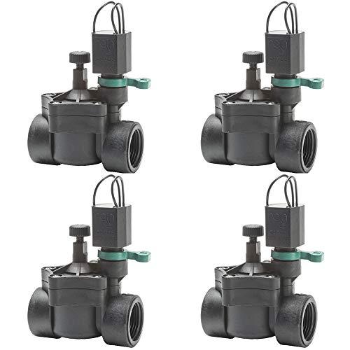 "Electroválvula Rain RN 150 24V 3/4"" con regulador de caudal (Pack x 4)"