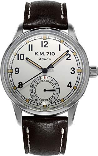 Alpina Geneve ALPINER Heritage Manufacture KM-710 AL-710KMV4E6 Reloj Automático para Hombres Calibre de Manufactura