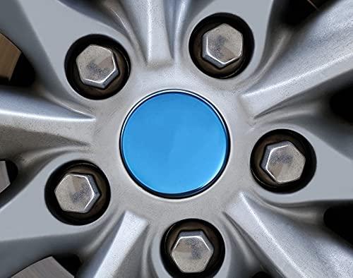 Cubierta central Para los modelos de Tesla Modelo S 2014-2018 Rueda de automóvil Cubierta de neumáticos de acero inoxidable Protector de arco Cubierta Centro de RIM ACCESORIOS EXTERIORES Tapacubos
