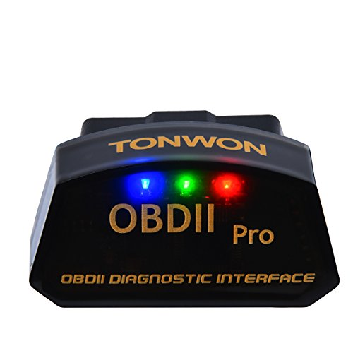 TONWON بلوتوث سيارة OBD2 قانون القراء