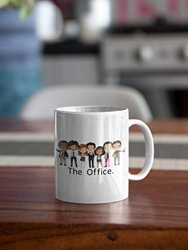 The Office Mug, Michael Scott Mug, Dwight Schrute, Pam, Jim, Kelly, Stanley, Andy, The Office Gifts, The Office TV Show, World's Best Boss - Great Gift Coffee Mug for Friend, Family