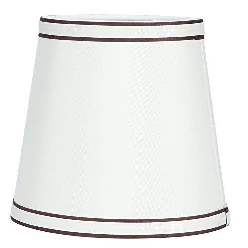GAESHOW Lampadario in tessuto per uso domestico Paralume Sospensione a sospensione Lampada a sospensione Paralume in tessuto beige Accessorio per lampada