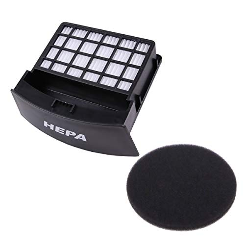 Hochwertiger Hepa- & Motorschutz-Filter - Für Fakir Nilco S20 E kompatibel - Bestleistung beim Saugen