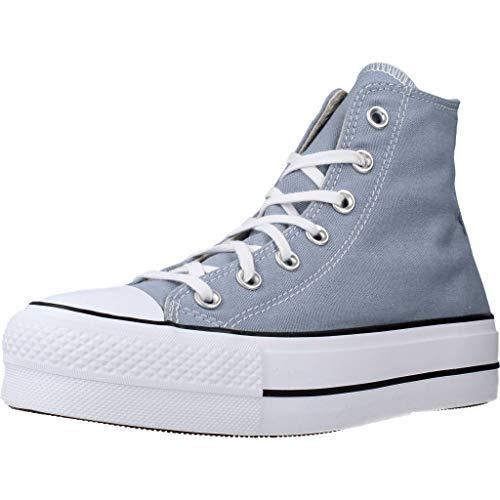 Converse Chuck Taylor All Star - Zapatillas Bota Mujer Gris Talla 40