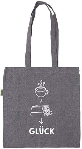 Ars Edition GmbH Kaffee + Bücher = Glück: Einkaufstasche