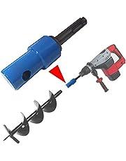 Adapter voor grondboor geschikt SDS PLUS paalboor boor accuboormachine